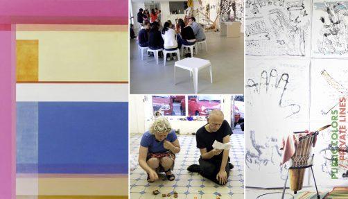 Christine Falk & Alfred Banze - Public Colors / Privat Lines
